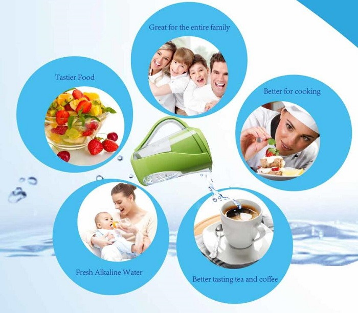 Advantages of the AOK Alkaline water Filter Pitcher/Jug Machine