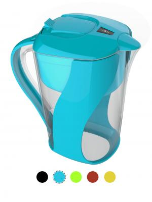 AOK 109 Blue Pitcher Of Life jarra de agua alcalina